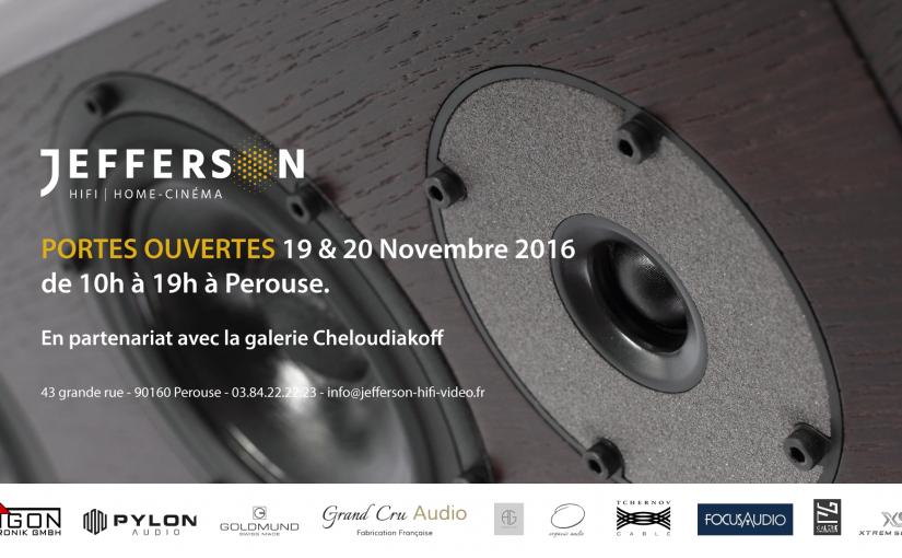Portes Ouvertes – 19 & 20 Novembre 2016